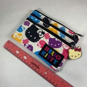 Hello Kitty Bags - Colorful Hello Kitty Pouch with 3 Pockets